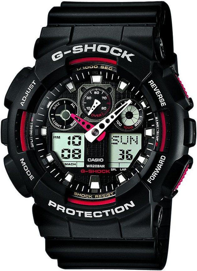 Оригинальные часы Casio G-Shock GA-100-1A4ER