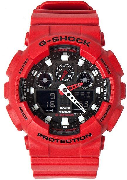 Оригинальные часы Casio G-Shock GA-100B-4AER