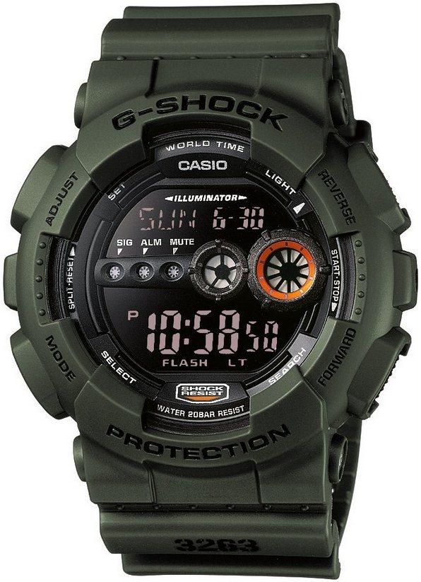 Оригинальные часы Casio G-Shock GD-100MS-3ER