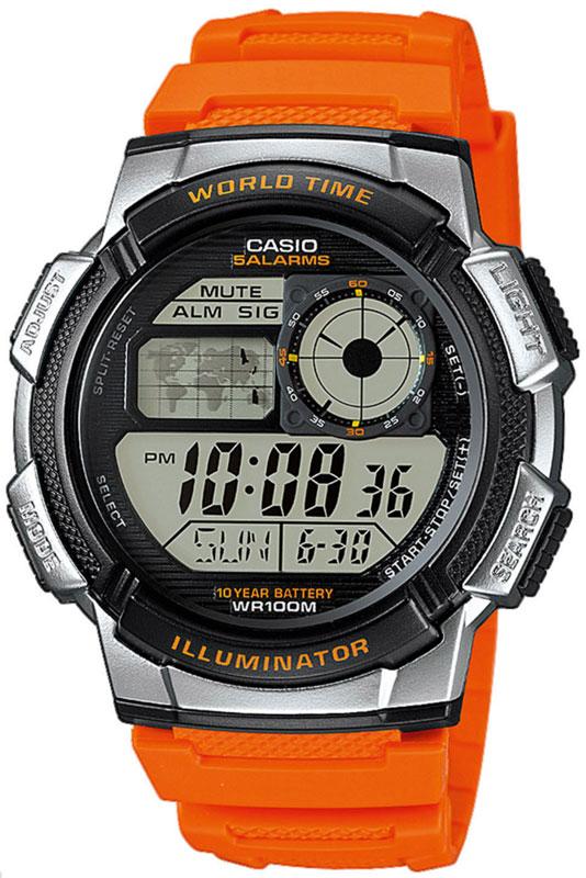 Оригинальные часы Casio Standart AE-1000W-4BVEF