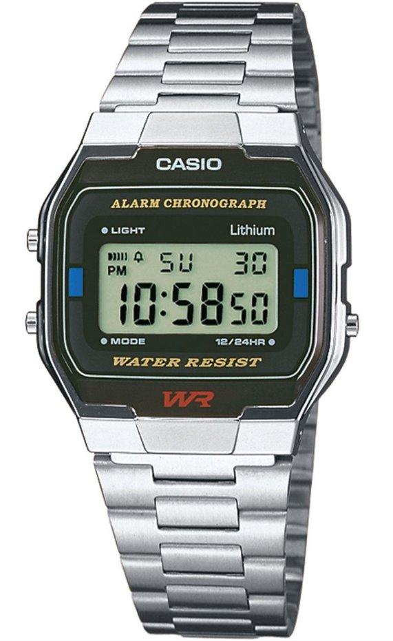 Оригинальные часы Casio Standart A163WA-1QGF