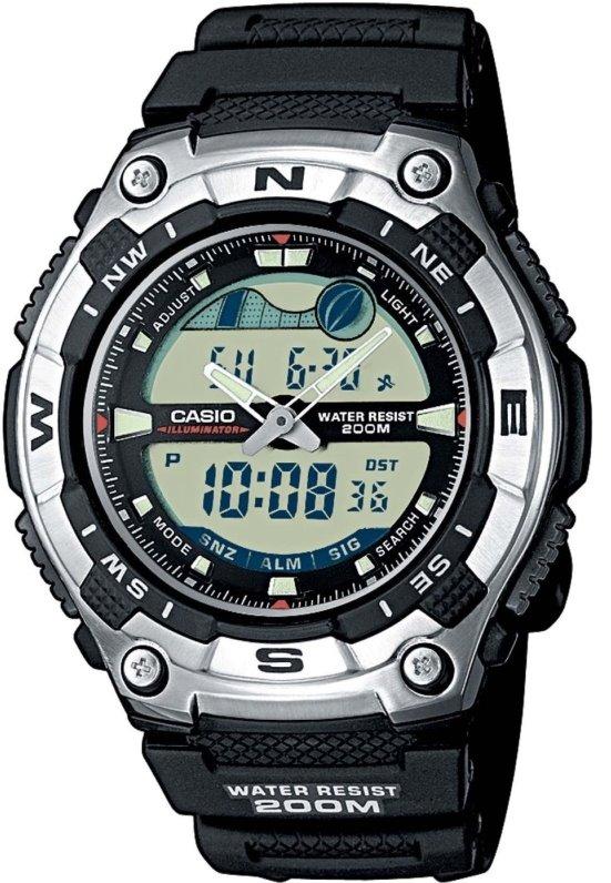 Оригинальные часы Casio Standart AQW-100-1AVEF