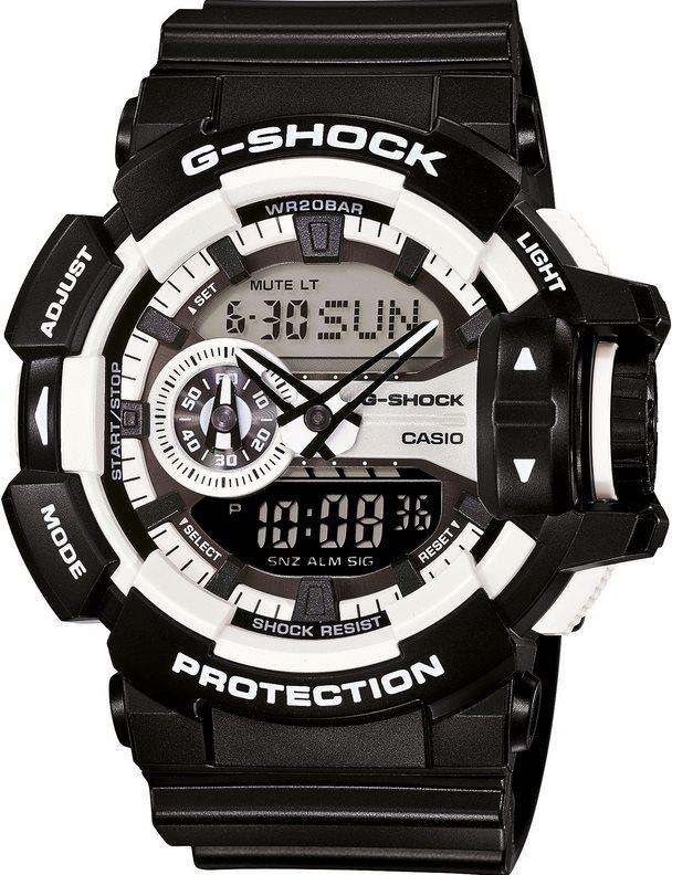 Оригинальные часы Casio G-Shock GA-400-1AER