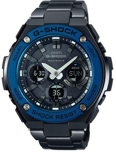 Оригинальные часы Casio G-Shock GST-W110BD-1A2ER