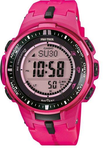 Оригинальные часы Casio Pro-trek PRW-3000-4BER
