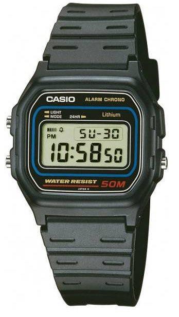 Оригинальные часы Casio Standart W-59-1VU