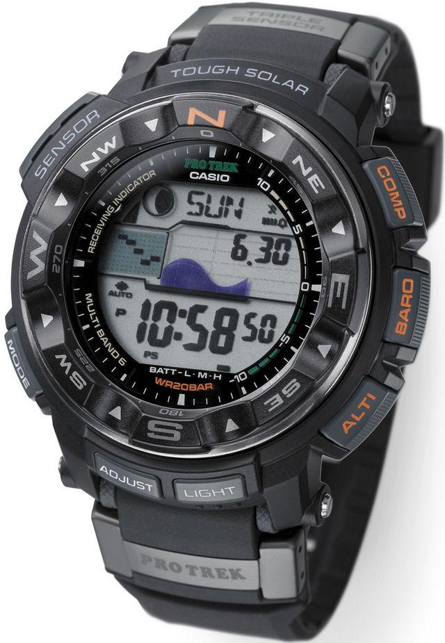 Оригинальные часы Casio Pro-trek PRW-2500-1ER
