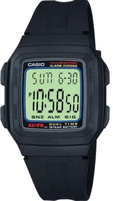 Мужские часы Casio Standard F-201W-1AEF