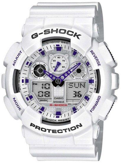 Оригинальные часы Casio G-Shock GA-100A-7AER