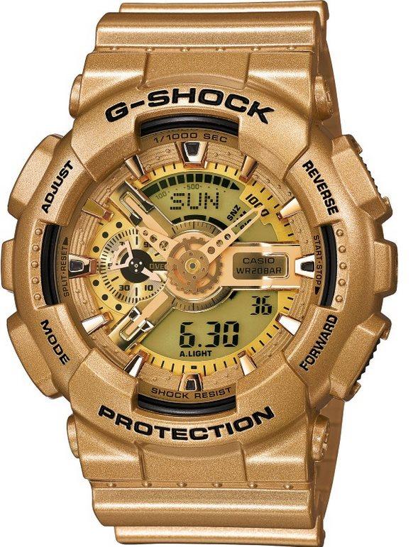 Оригинальные часы Casio G-Shock GA-110GD-9AER