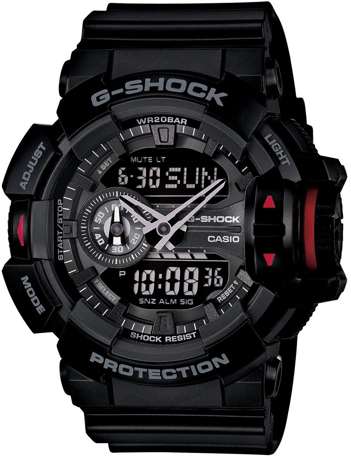 Оригинальные часы Casio G-Shock GA-400-1BER