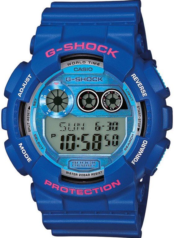Оригинальные часы Casio G-Shock GD-120TS-2ER