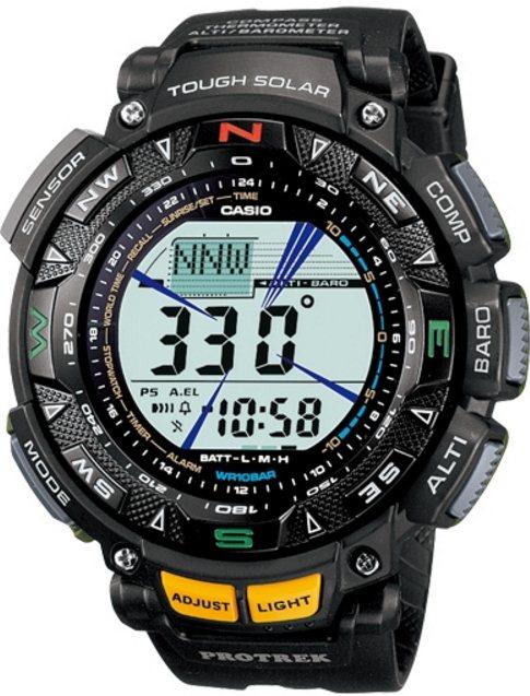Оригинальные часы Casio Pro-trek PRG-240-1ER