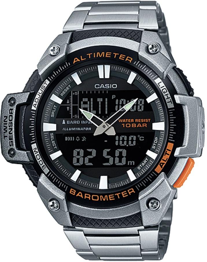 Оригинальные часы Casio Pro-trek SGW-450HD-1BER