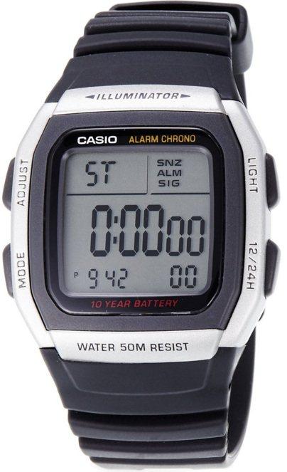 Оригинальные часы Casio Standart W-96H-1AVEF