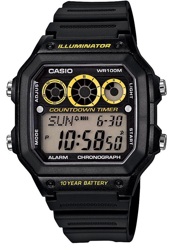 Мужские часы Casio Standard AE-1300WH-1AVEF