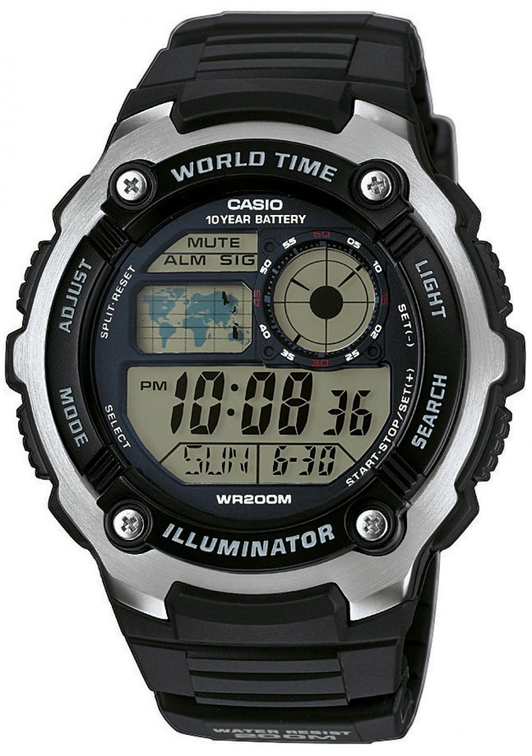 Мужские часы Casio Standard AE-2100W-1AVEF