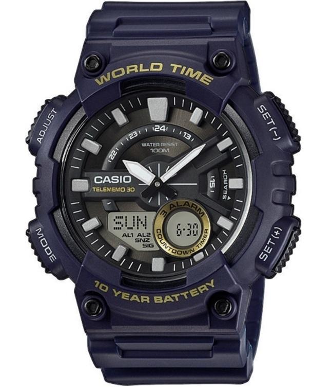 Мужские часы Casio Standard AEQ-110W-2AVEF