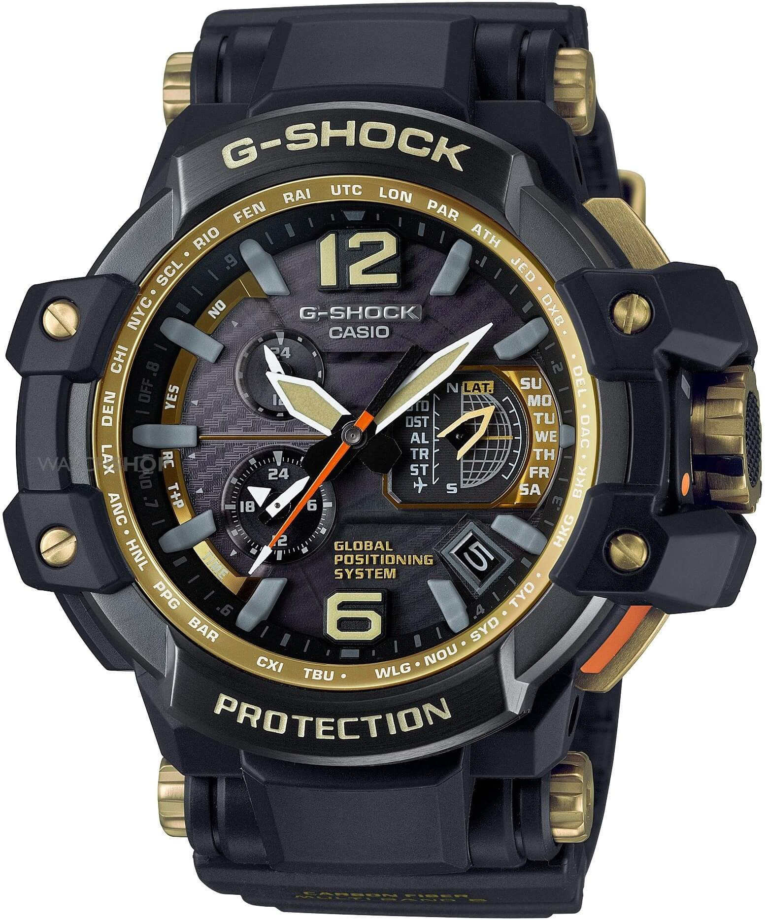 Мужские часы Casio G-Shock GPW-1000GB-1AER