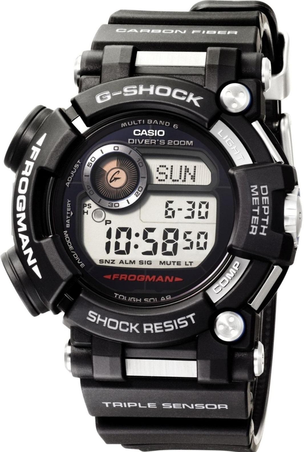 Мужские часы Casio G-Shock GWF-D1000-1ER