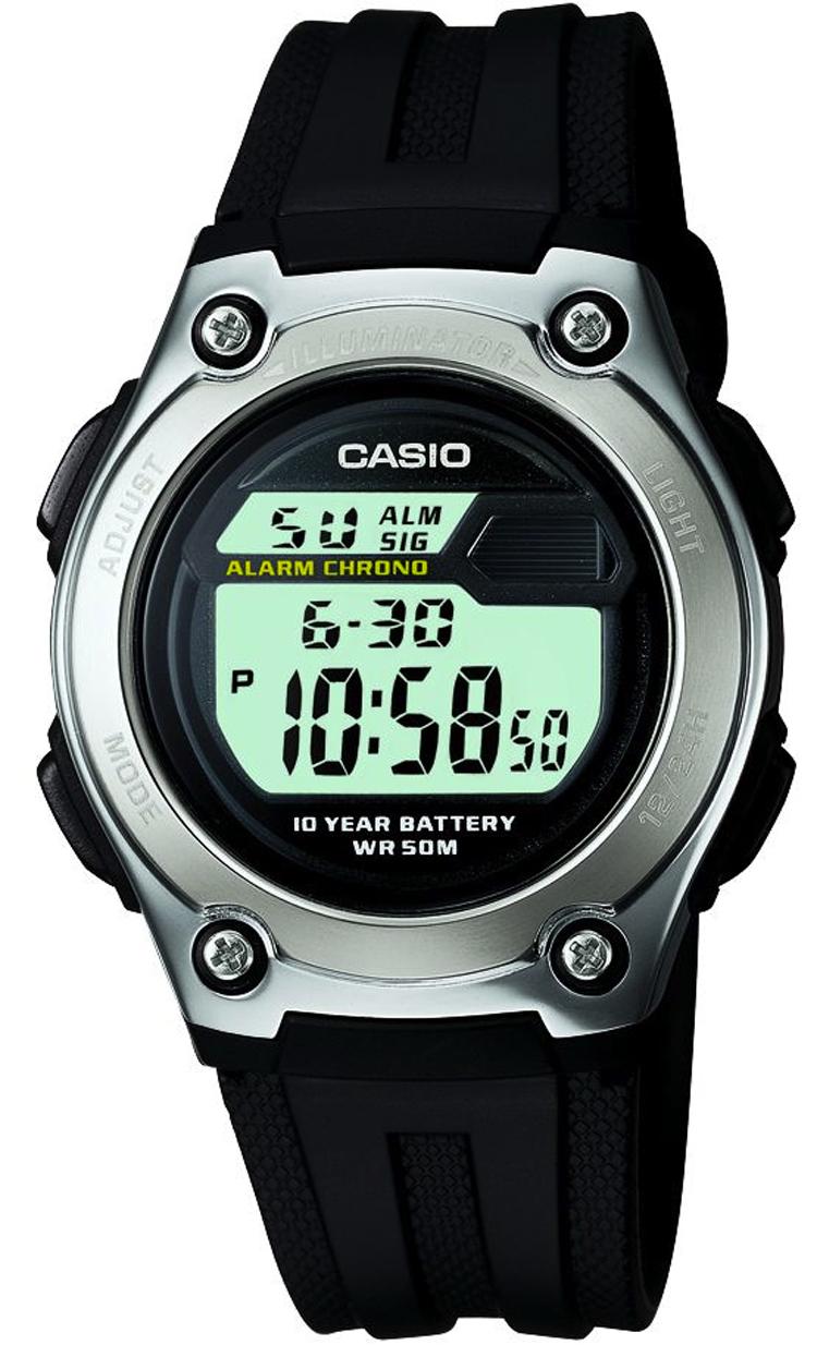 Мужские часы Casio Standard W-211-1AVEF