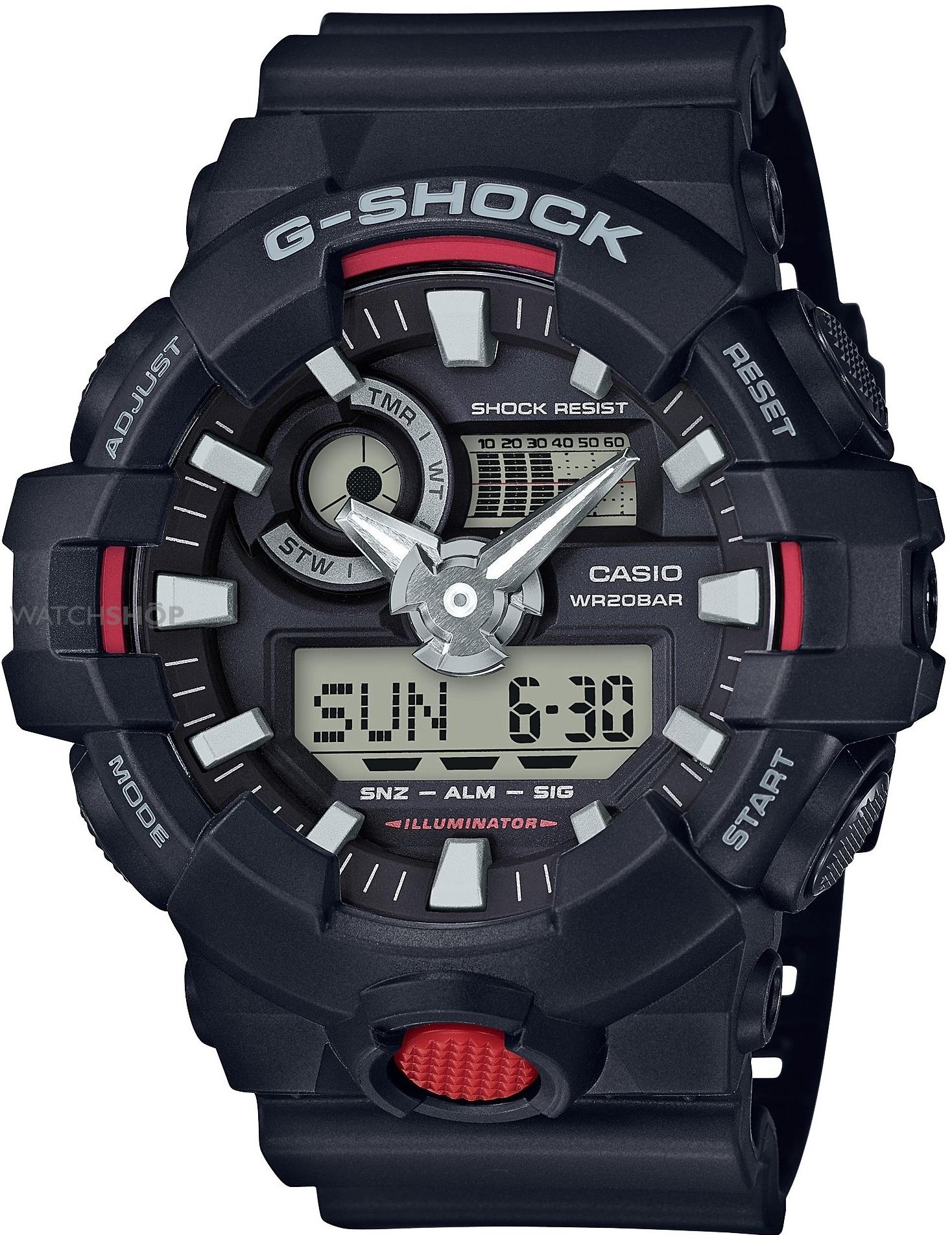 Мужские часы Casio G-Shock GA-700-1AER