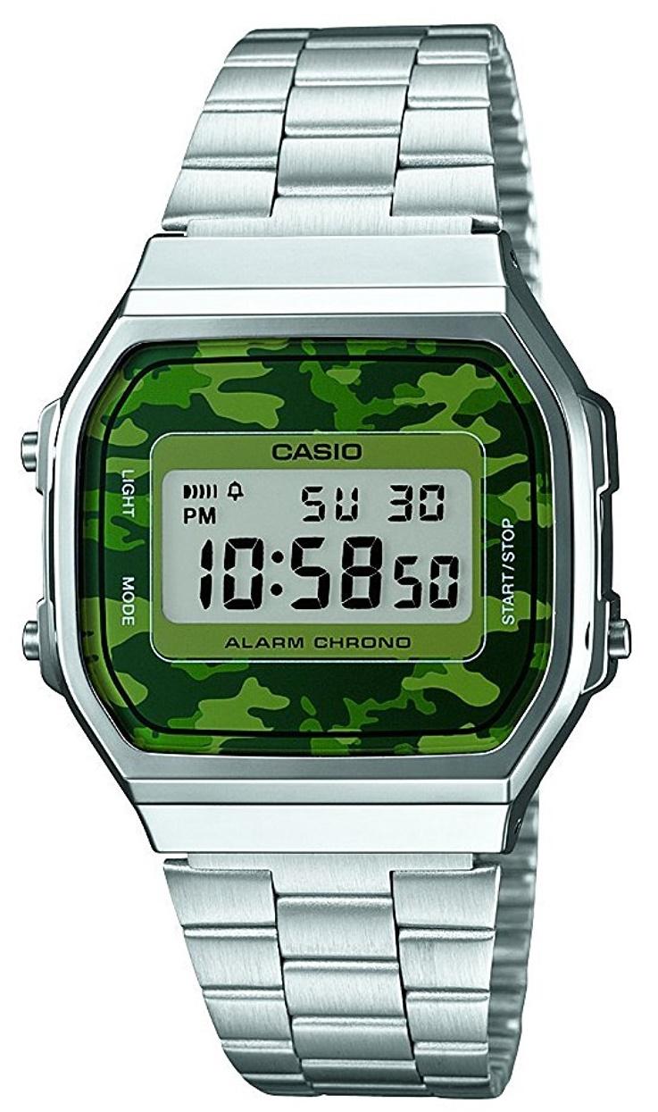 Мужские часы Casio Standard A168WEC-3EF