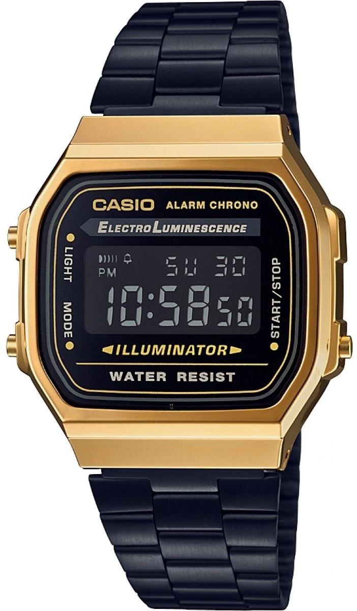 Мужские часы Casio Standard A168WEGB-1BEF