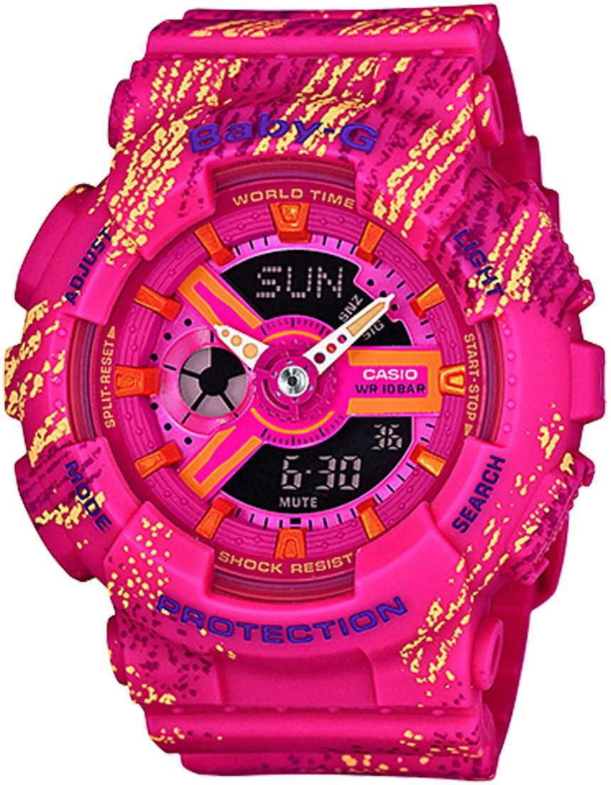 Женские часы Casio Baby-G BA-110TX-4AER