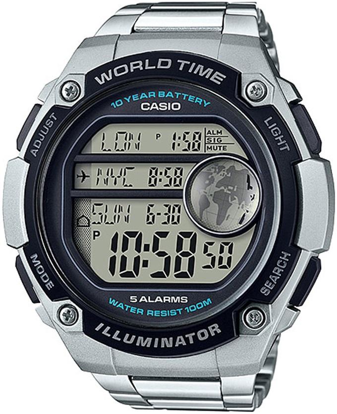 Мужские часы Casio Standard AE-3000WD-1AVEF