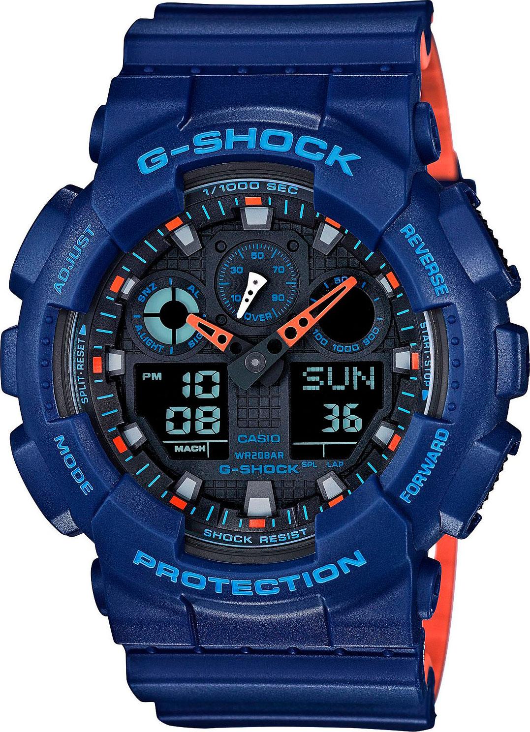 Мужские часы Casio G-Shock GA-100L-2AER