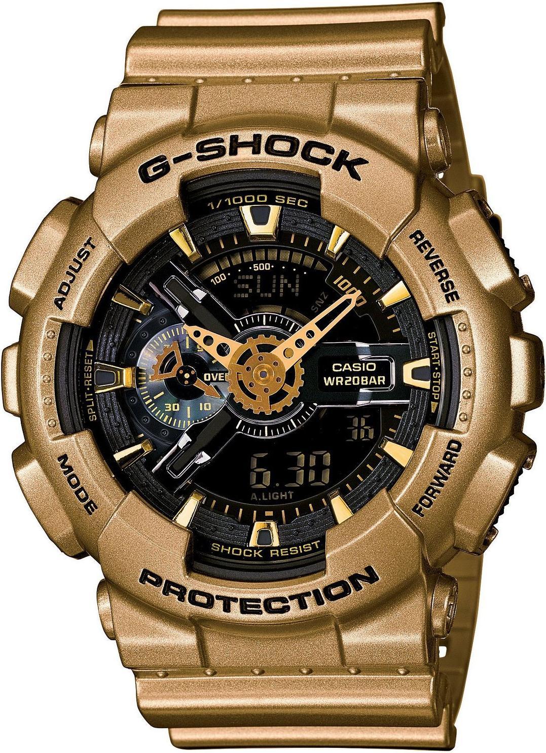 Мужские часы Casio G-Shock GA-110GD-9BER