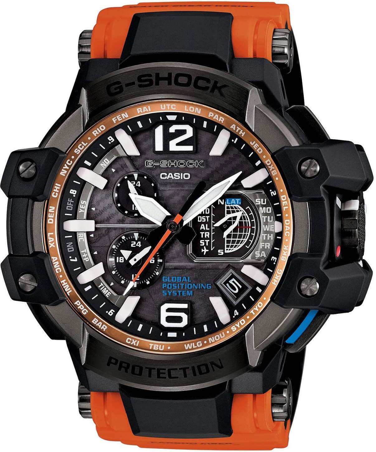 Мужские часы Casio G-Shock GPW-1000-4AER