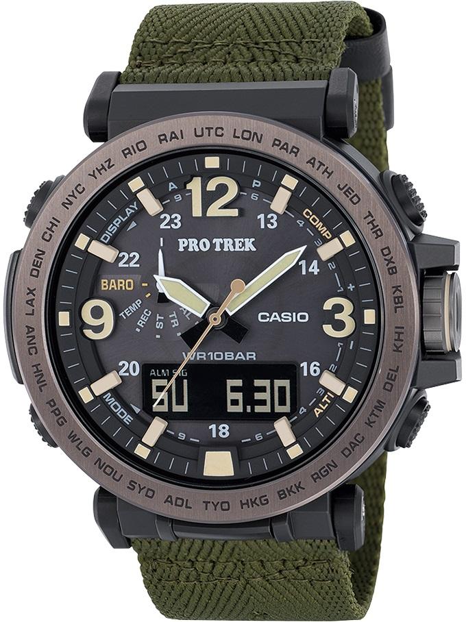 Мужские часы Casio Pro-trek PRG-600YB-3ER