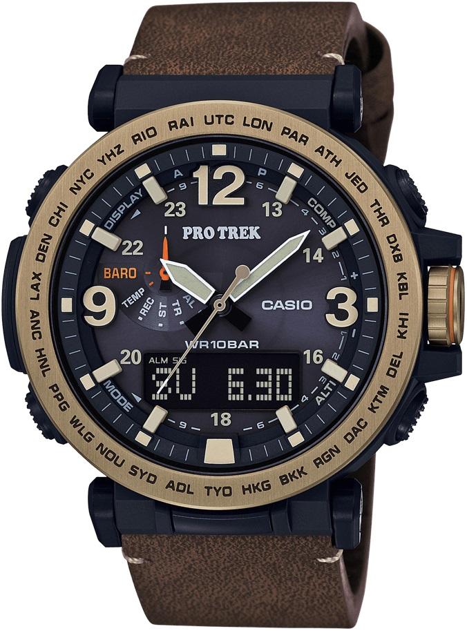 Мужские часы Casio Pro-trek PRG-600YL-5ER