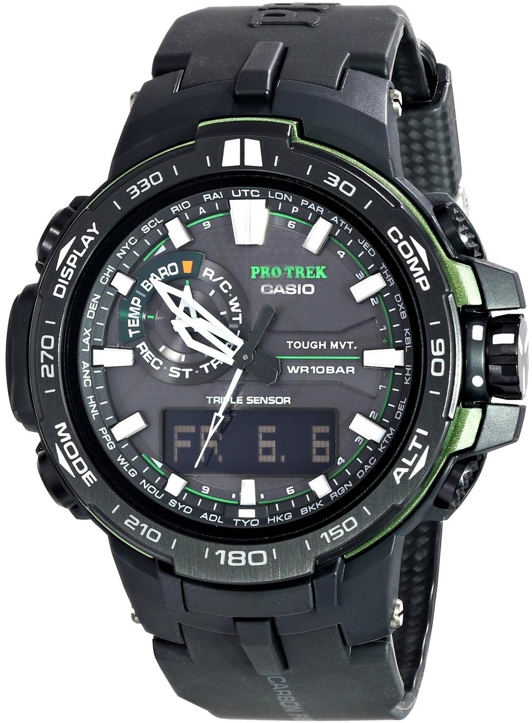 Оригинальные часы Casio Pro-trek PRW-6000Y-1AER