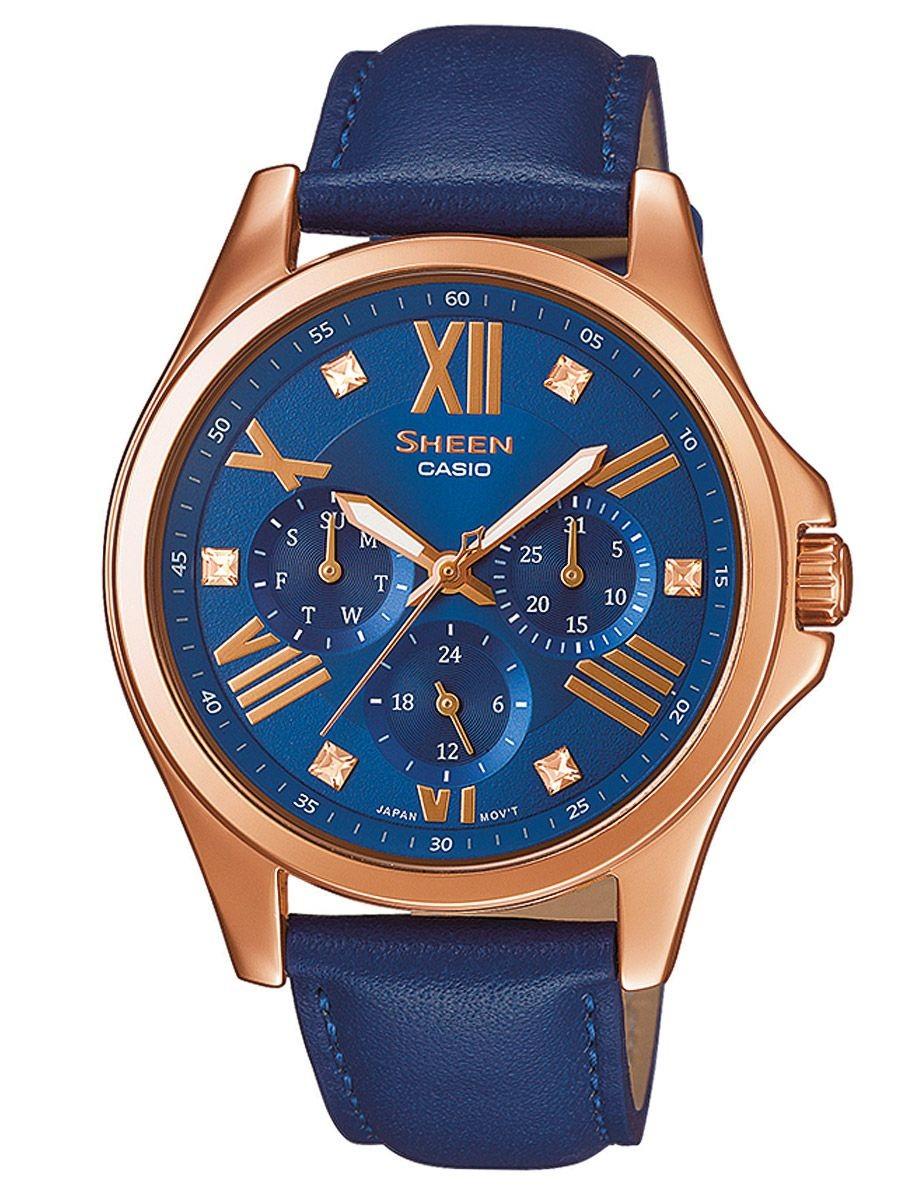 Женские часы Casio Ladies SHE-3806GL-2AUER