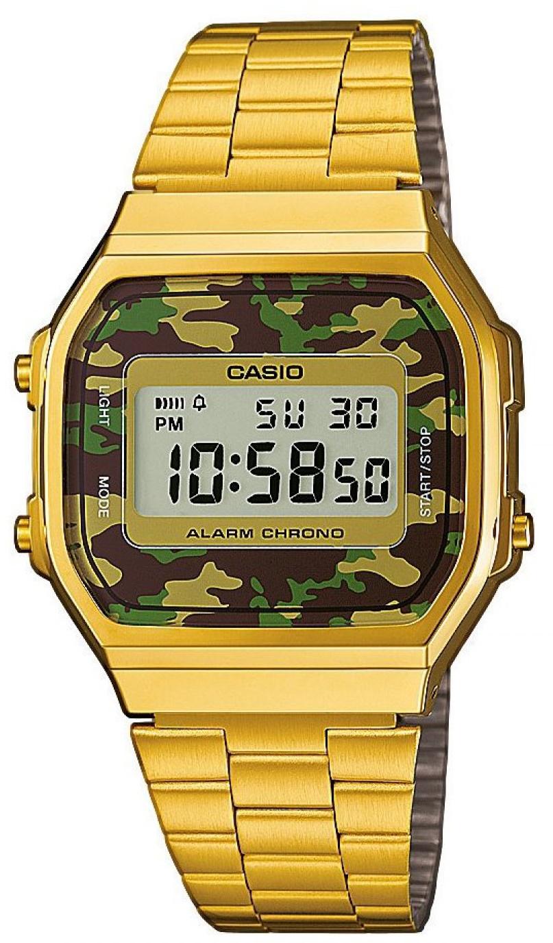 Мужские часы Casio Standard A168WEGC-3EF