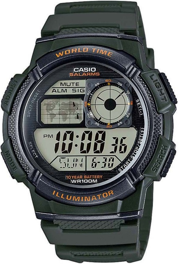 Оригинальные часы Casio Standart AE-1000W-3AVEF