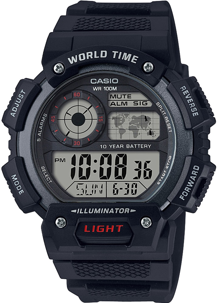 Мужские часы Casio Standard AE-1400WH-1AVEF