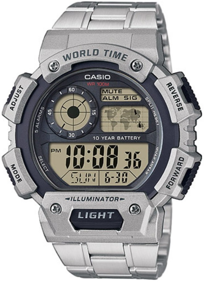 Мужские часы Casio Standard AE-1400WHD-1AVEF