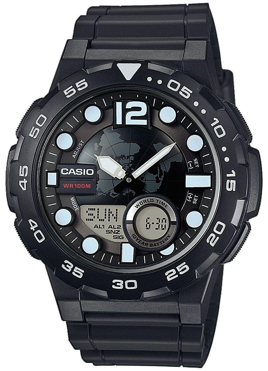 Мужские часы Casio Standard AEQ-100W-1AVEF