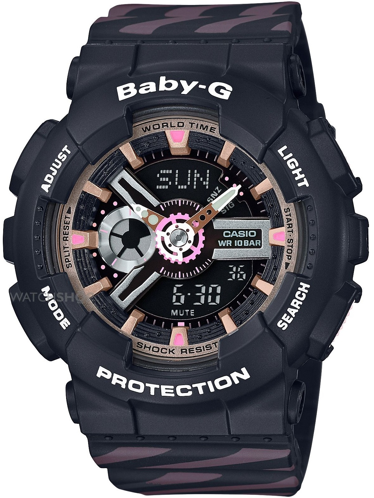 Женские часы Casio Baby-G BA-110CH-1AER
