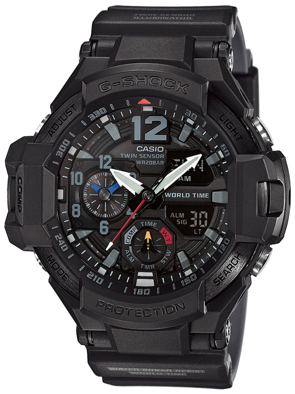 Мужские часы Casio G-Shock GA-1100-1A1ER
