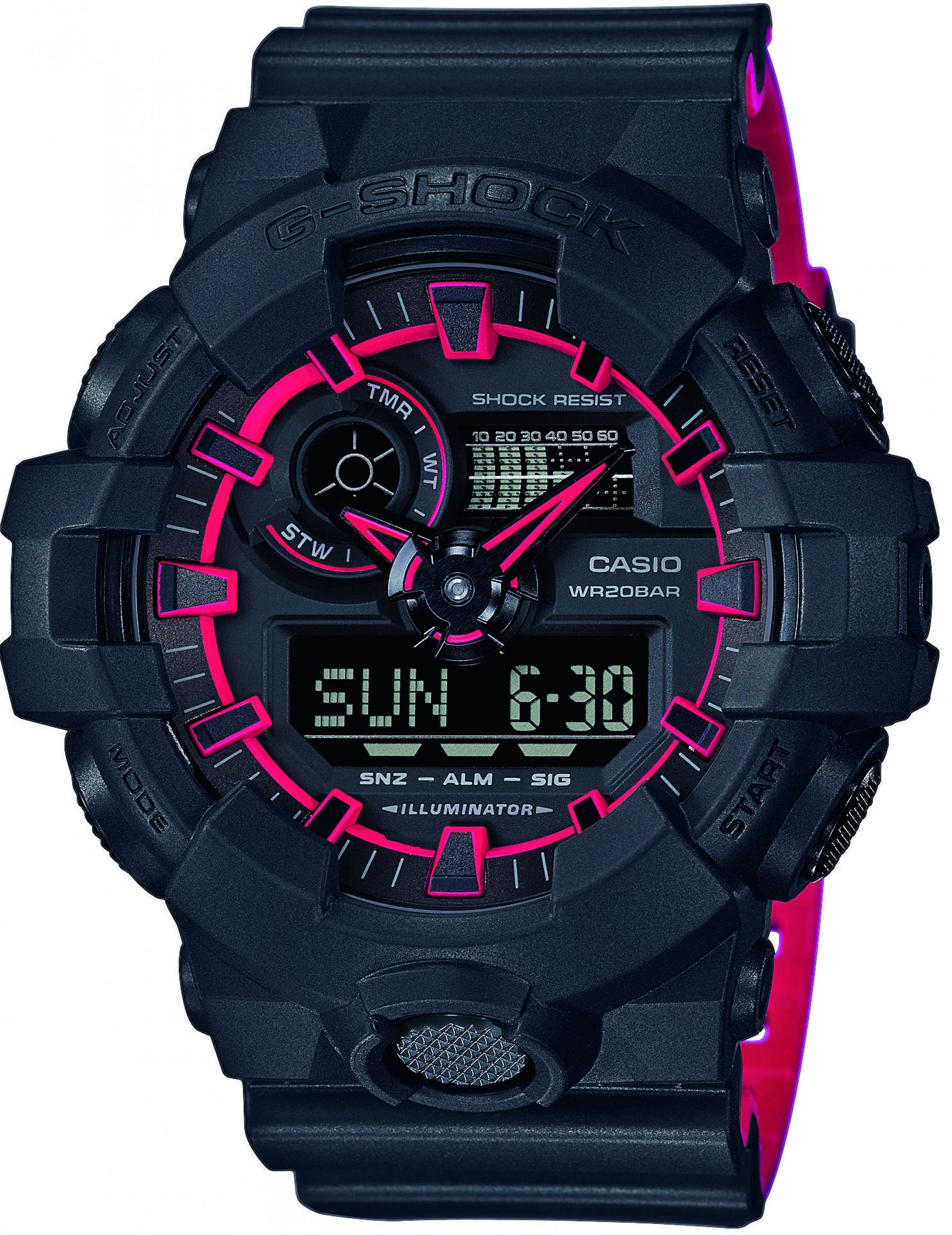 Мужские часы Casio G-Shock GA-700SE-1A4ER