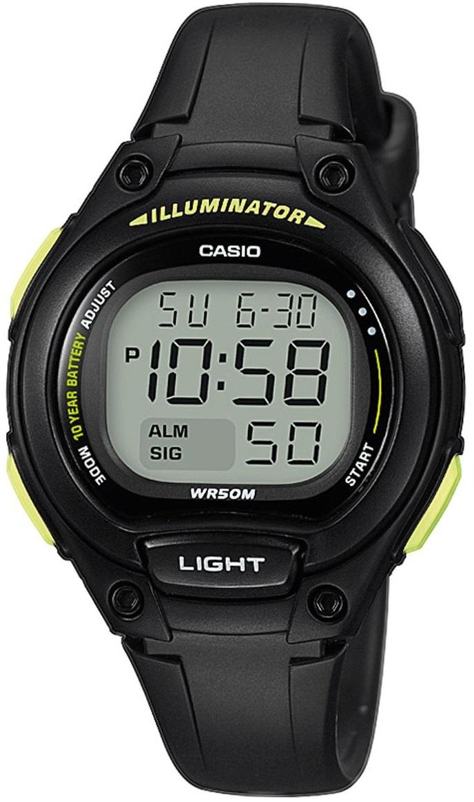 Женские часы Casio Ladies LW-203-1BVEF