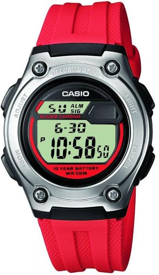 Мужские часы Casio Standard W-211-4AVEF