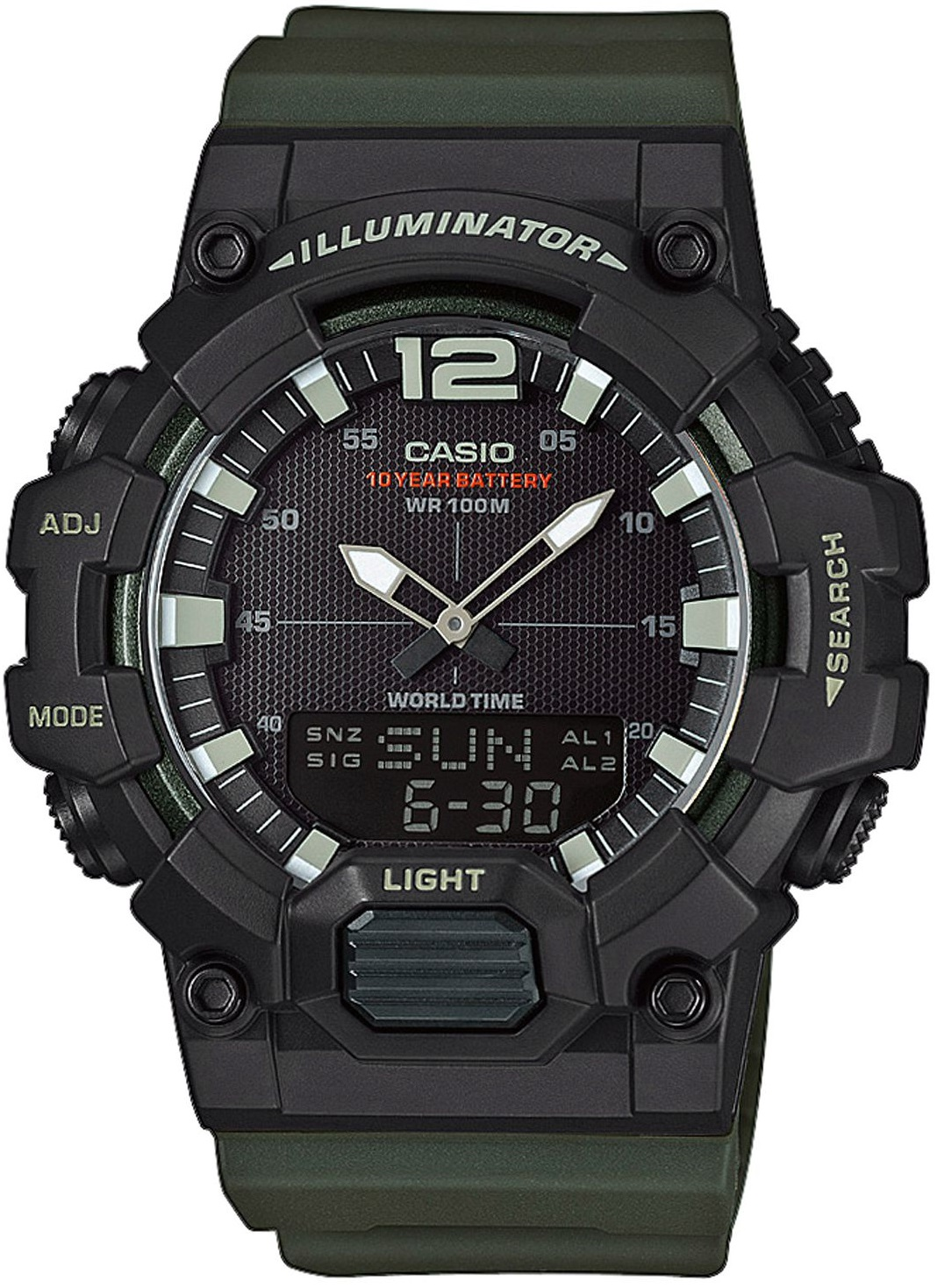 Мужские часы Casio Standard HDC-700-3AVEF