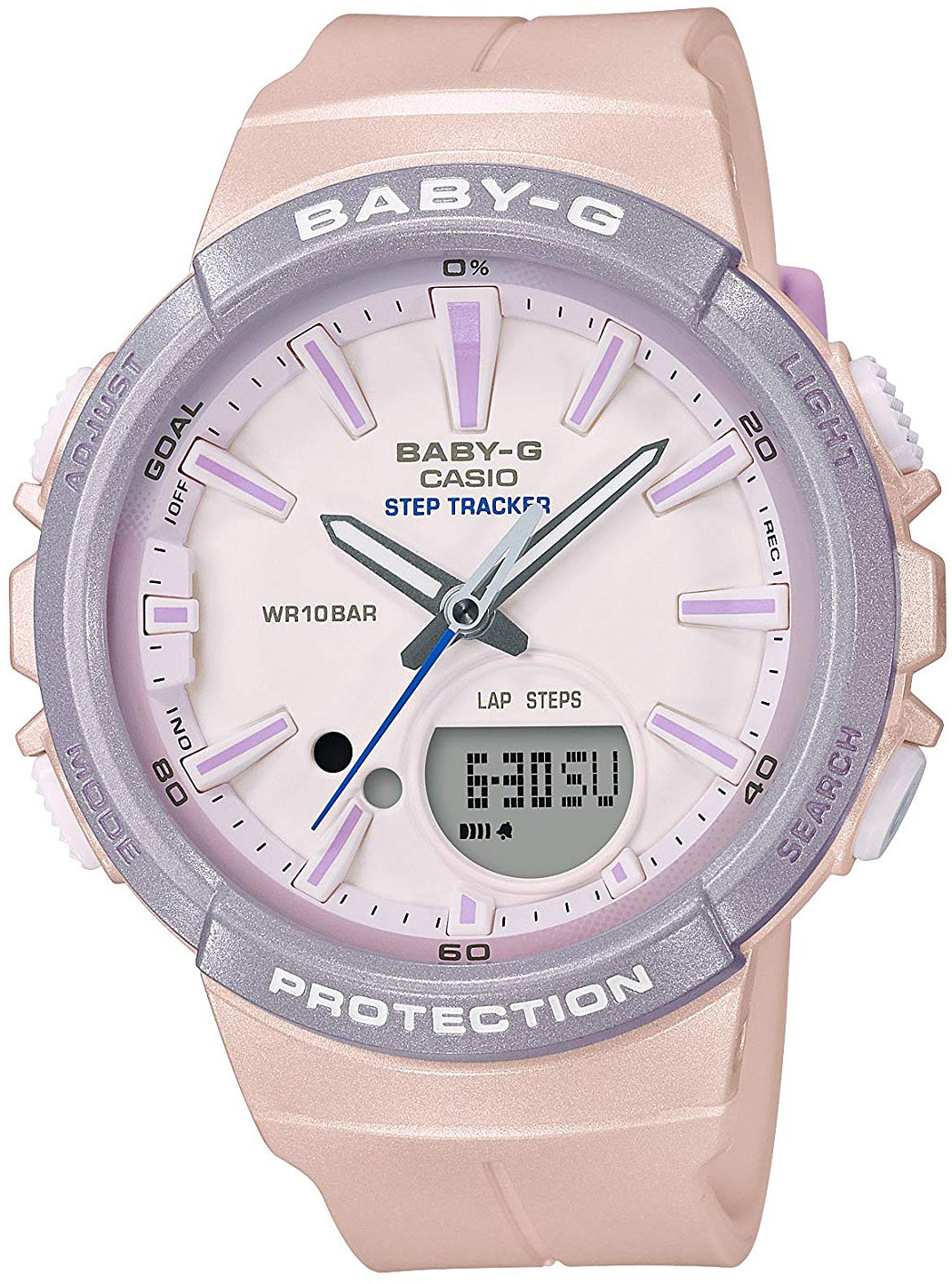 Женские часы Casio Baby-G BGS-100SC-4AER