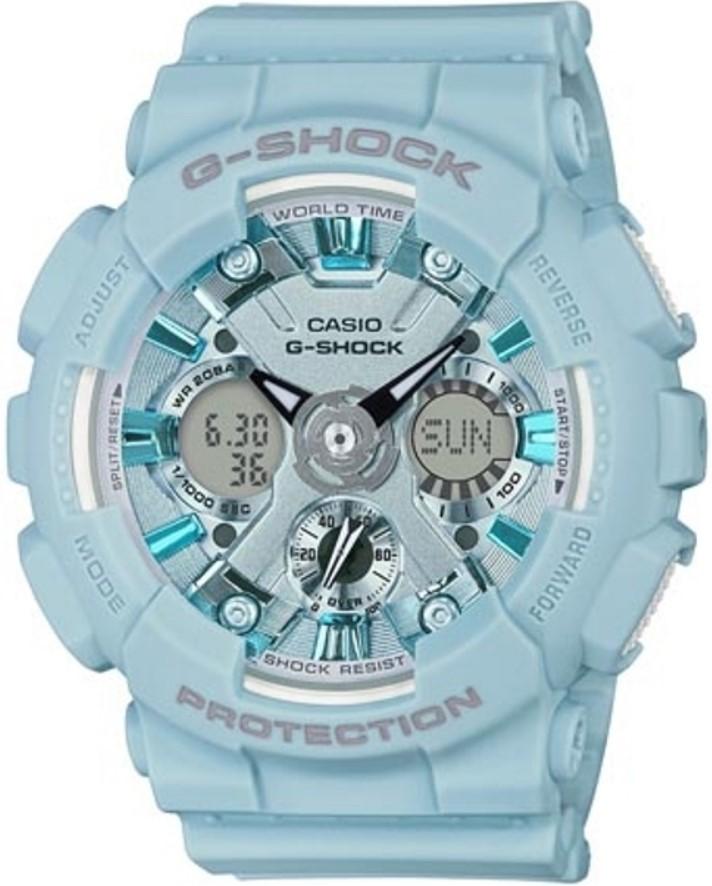 Женские часы Casio G-Shock GMA-S120DP-2AER